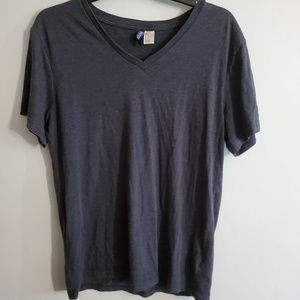H&M Divivded Gray Shirt